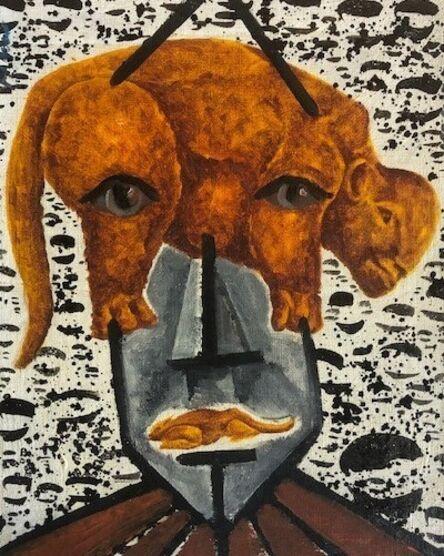 Eric Massholder, 'Tête lourde', 2002