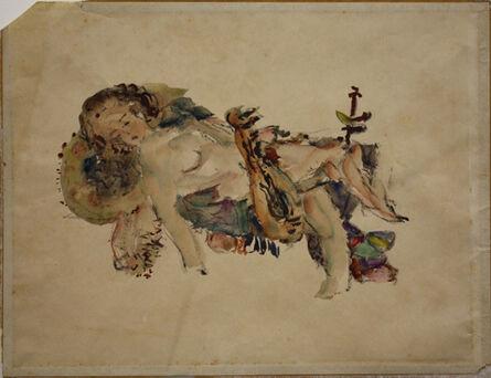 Samuel Feijoo, 'Mujer Recostada (Reclining Woman)', ca. 1942