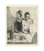 Pablo Picasso, 'Le Repas Frugal', 1904