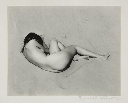 Edward Weston, 'Nude on Sand', 1936