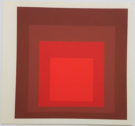 Josef Albers, 'Homage to the Square: R-I D-5', 1977