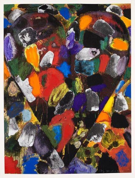 Jim Dine, 'Ball-Grained Heart', 2010