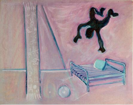 Hellal Zoubir, 'L'homme et le lit', 1979