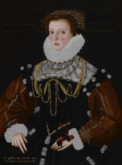George Gower, 'Lady Philippa Coningsby', 1578