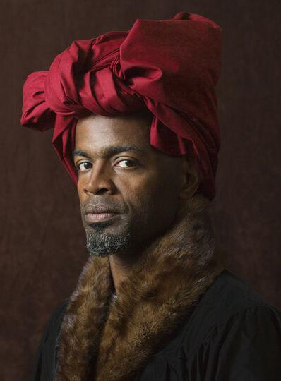 E2 - KLEINVELD & JULIEN, 'Ode to Van Eyck's Self-Portrait', 2012