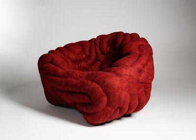 Ayala Serfaty, 'Dito Rosso - Custom Armchair', 2018