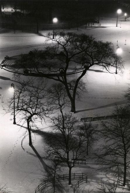 André Kertész, 'Washington Square at Night', 1954