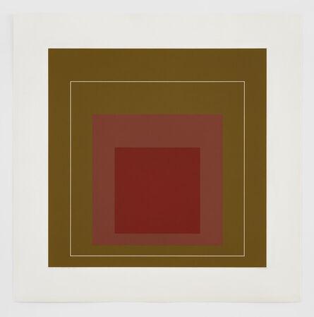 Josef Albers, 'WLS IV', 1966