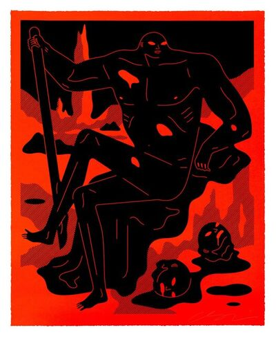 Cleon Peterson, 'The Day Has Turned to Night (Red) ', 2021