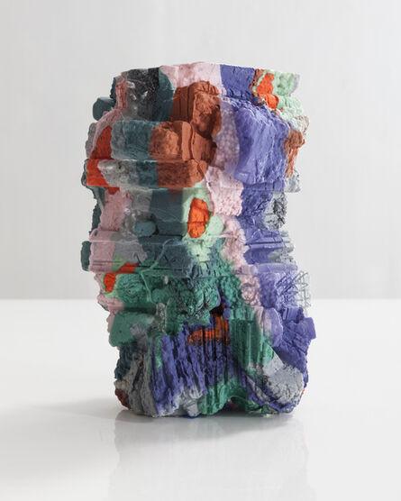 Thaddeus Wolfe, 'Unique blown glass vessel', 2015