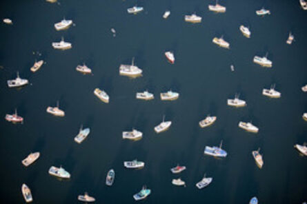 Alex Maclean, 'Directionless Lobster Boats, Tremont, ME', 2008