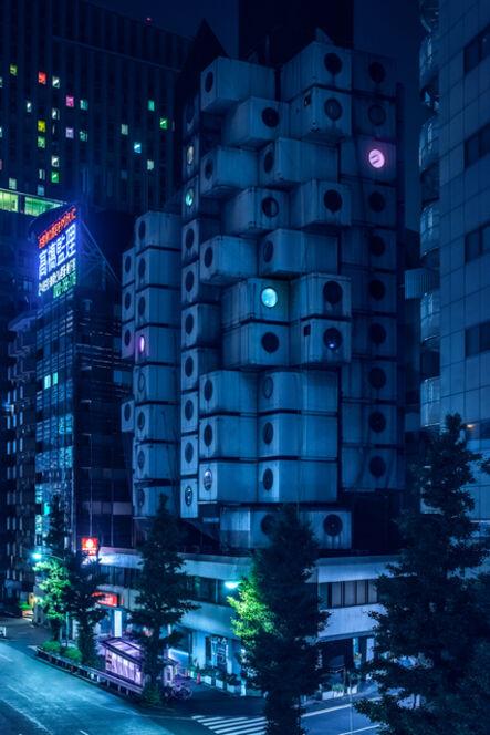 Tom Blachford, 'Nagakin Capsule Tower - Nihon Noir'