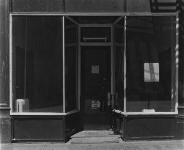 Bevan Davies, 'Storefront, Manhattan, New York', 1976