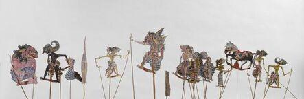 'Ensemble of Wayang Kulit shadow figures', End of 19th century