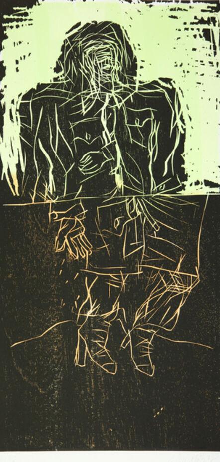 Georg Baselitz, 'Maler im Mantel (Remix)', 2008