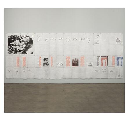 Eugenio Dittborn, 'To Travel   ', 1990