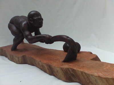 Ibou N'Diaye, 'Dogon Farmer', 2015