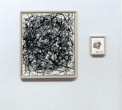 Art & Language, 'Portrait of V.I Lenin in the Style of Jackson Pollock VIII', 1980