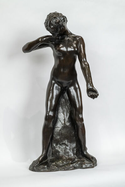 Auguste Rodin, 'Standing Fauness - simple rock version', Conceived 1884-this cast 1956