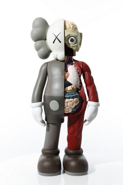 KAWS, '4 FOOT DISSECTED COMPANION (BROWN)', 2009