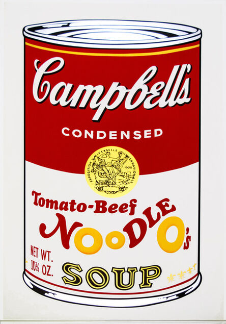 Andy Warhol, 'Tomato-Beef Noodle O's from Campbell's Soup II', 1969