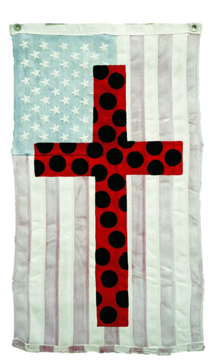 Ronnie Cutrone, 'Polka Dot Cross', 2002