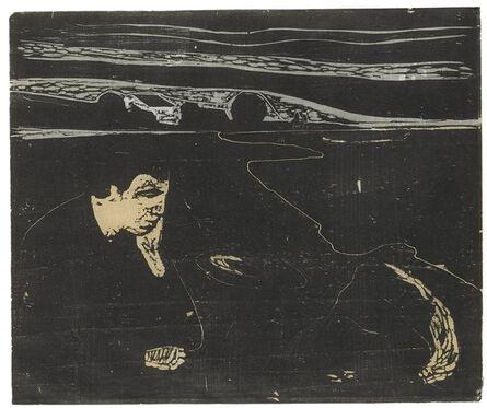 Edvard Munch, 'Evening. Melancholy I (Sch. 82; W. 91)', 1896