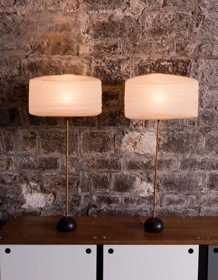 Isamu Noguchi, 'Pair of lamps', vers 1960
