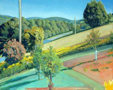 Richard Kirk Mills, 'Summer Hillside', 2015