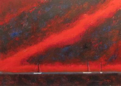William Irvine, 'Evening Harbor', 2013