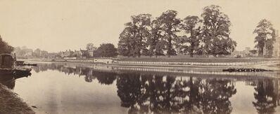 Victor Albert Prout, 'Hampton Court (Second View)', 1862