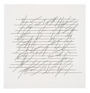 Vera Molnar, 'Untitled (6)', 1972