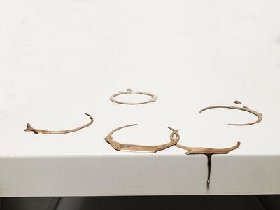 Vanderlei Lopes, 'Marcas de copos (Glass marks)', 2014