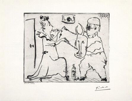 Pablo Picasso, 'Picasso Histoire de Sabartes et desa Voisine: Les Banderilles', 1957