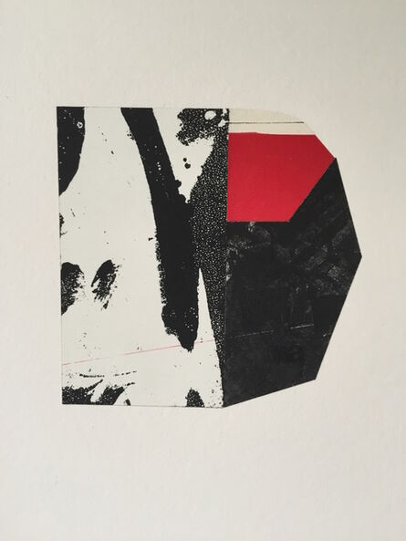 Alan Steele, 'Untitled: Red and Black', 2015