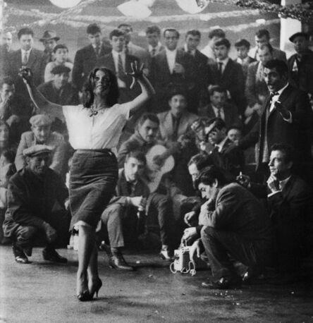 Lucien Clergue, 'La Danse du mariage gitan', 1963