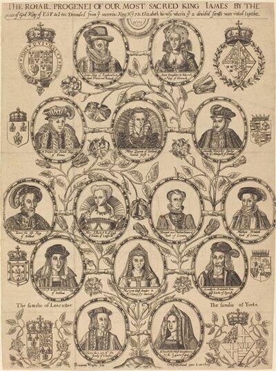 Benjamin Wright, 'Royal Progeny of King James', 1619