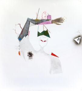 Zsolt Tibor, 'portrait; take leave (of trans humanist thinker idealistic atelier)', 2018