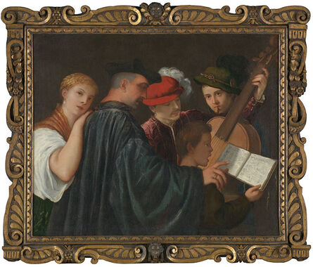 Titian, 'The Music Lesson', about 1535