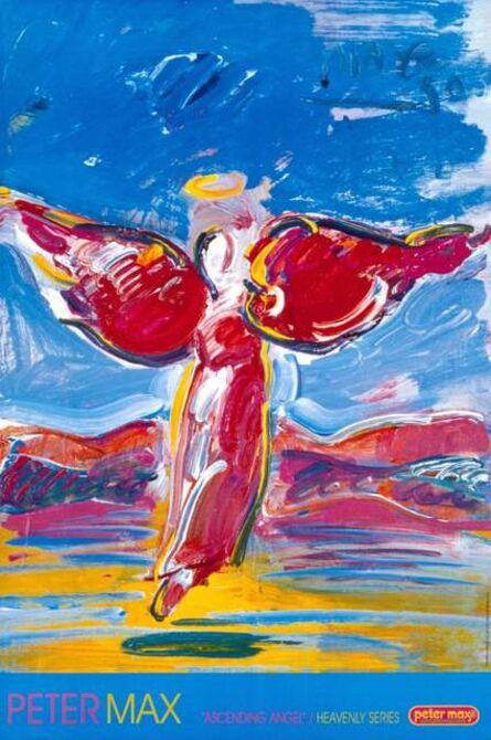 Peter Max, 'Ascending Angel', 2000