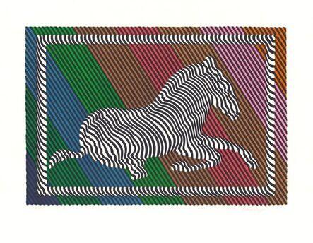Victor Vasarely, 'Zebra No. 3 (III)', 1980-1990