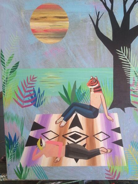 Deedee Cheriel, 'Lazurite And Athenas Polemic', 2015