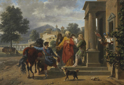 Nicolas-Antoine Taunay, 'The Departure of the Prodigal Son'