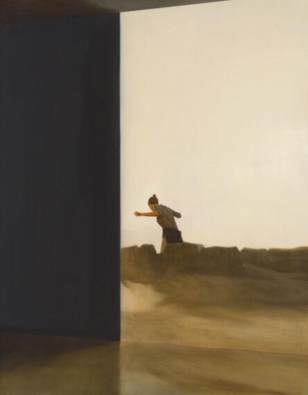 Tim Eitel, 'Hinter Felsen', 2016