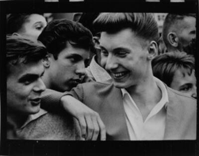 Will McBride, 'Junge Männer auf der Straße', 1956