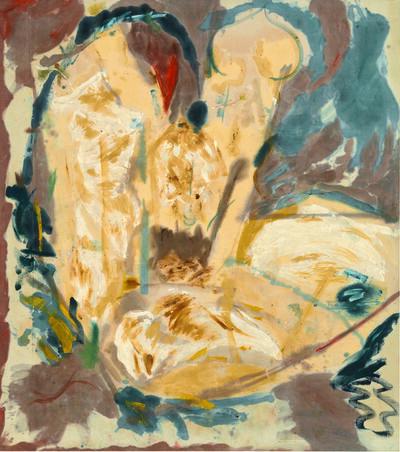 Helen Frankenthaler, 'Giralda', 1956