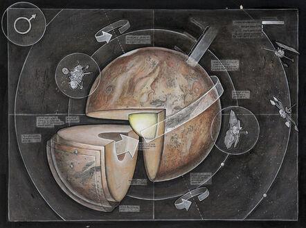 Casey Cripe, 'Planets: Mars (v.1.1)', 2015