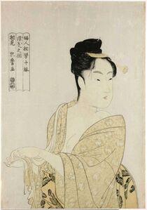 Kitagawa Utamaro, ''Fancy-free type' (Uwaki no so), from the series Ten Types in the Physiognomic Study of Women (Fujin sogaku juttai)', ca. 1792-3