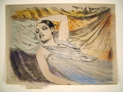 Theodore Roussel, 'The Sleeping Model, or, The Sleeper'