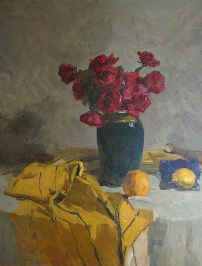 Aleksandr Timofeevich Danilichev, 'Red roses', 1958